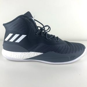 Adidas D Rose 8 Basketball Shoes Mens Sz 13.5 Grey